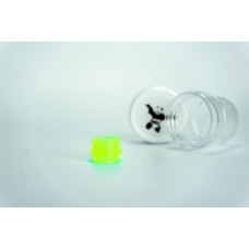 Armor Wide Bore Tip - Neon Green Acrylic