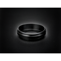 Armor Mech Ring - V2, Black Delrin