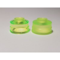 Neon Green NarEa with Integrated Ring 24mm