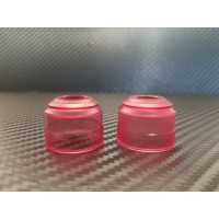 Prestige - Clear Red Acrylic - 22mm