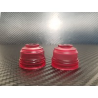 Prestige - Clear Red Acrylic - 24mm